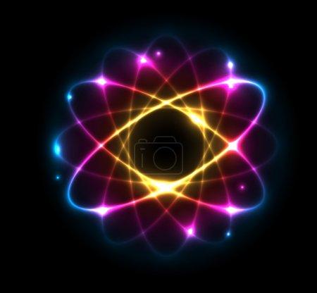 Atom - vector illustration
