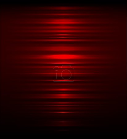 Illustration for Red abstract background with vertical stripes - Royalty Free Image