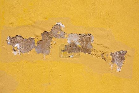 Worn textured cement wall