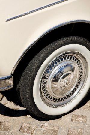Detail of wheel