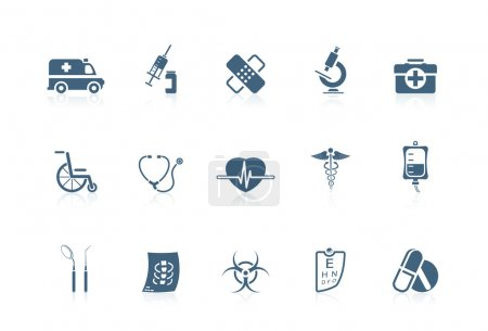 Illustration for Medical icons | piccolo series - Royalty Free Image