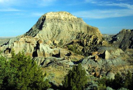 Photo pour Cette photo est prise du haut terrain désertique dans Washington au sud de Spokane - image libre de droit
