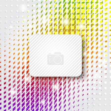 Illustration pour Fond coloré abstrait avec espace de copie - image libre de droit
