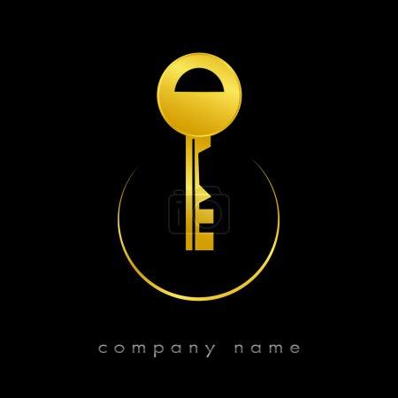 Illustration pour Logotype pour l'immobilier, agence - image libre de droit