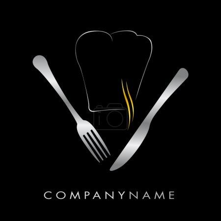 Illustration pour Menu d'illustration pour les entreprises de cuisine, restauration rapide, restaurant - image libre de droit