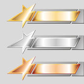 Metal emblems