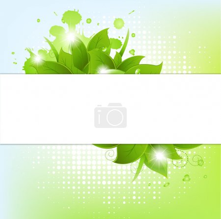 Illustration for Abstract Background With Blots, Vector Illustration - Royalty Free Image