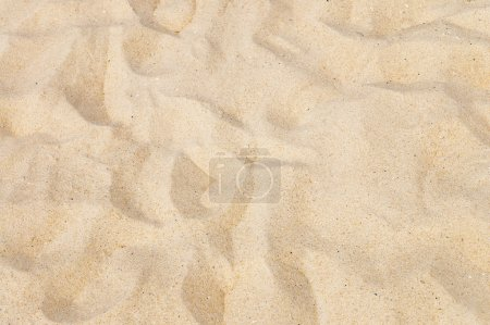 Texture of yellow sand on the beach...