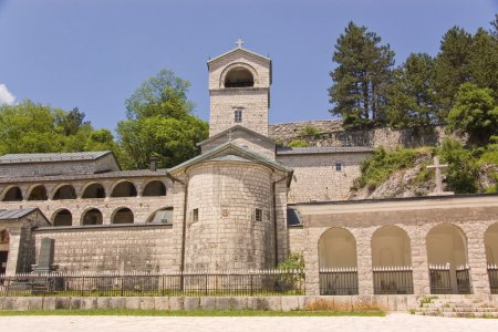 Cetinje. Virgin Monastery