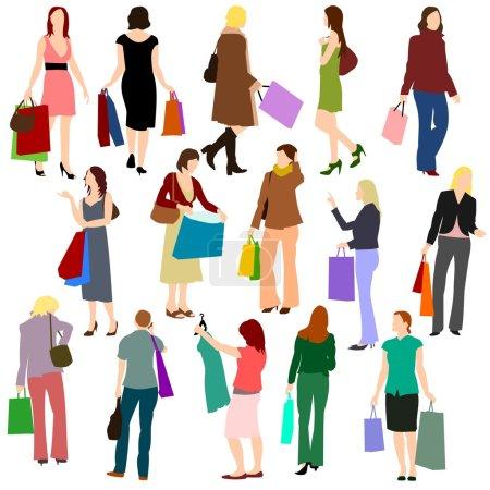 Women Shopping No.1.