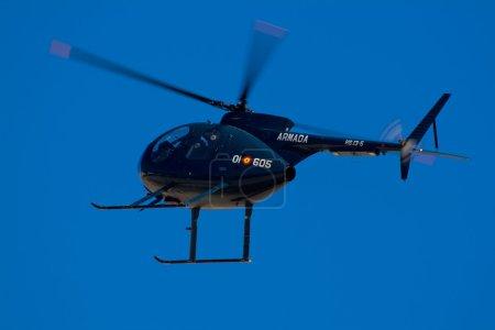 Photo pour Petit hélicoptère militaire d'entraînement avancé et d'attaque - image libre de droit