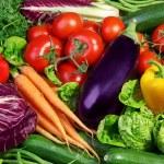 Assortment of fresh vegetables close up...