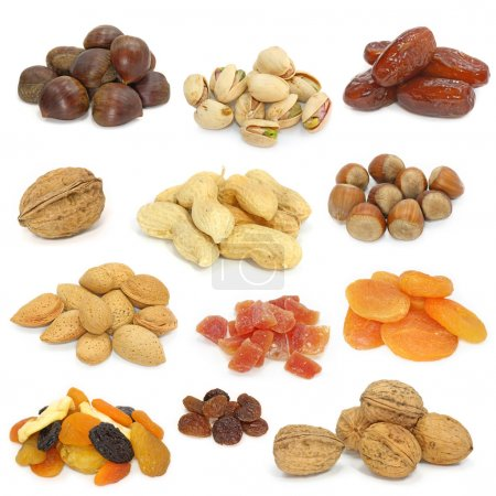 Nuts and dried fruits