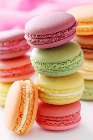 Photo for Colorful macaroons - Royalty Free Image