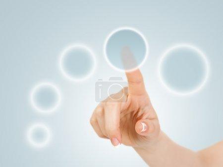 Hand pressing