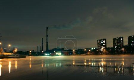 Photo pour Ancien lit de la rivière Moscou - image libre de droit