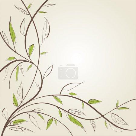 Stylized willow