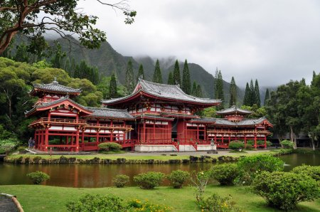 temple japonais Byodo-in bouddhiste