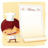 Chef - menu