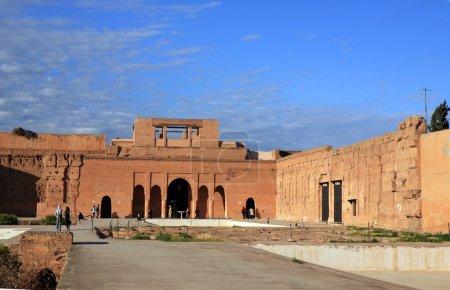 Palais el-Badi in Marrakech