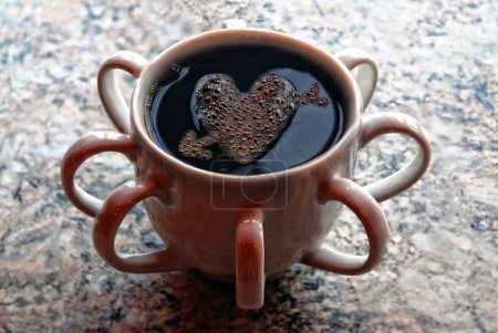 Moder cup of coffe