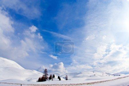 Photo pour Italie, Dolomite, col de Sella - image libre de droit