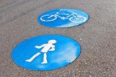 Symbol pro cestu a bikelane