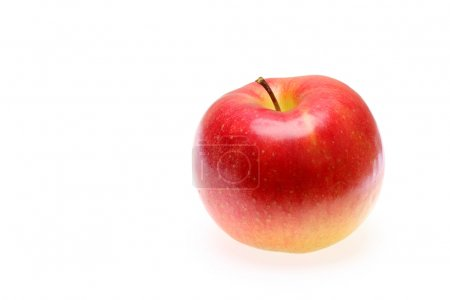 Photo for Apple isolated on white background - Royalty Free Image