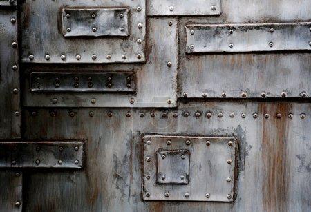 Photo pour Fond de texture en métal - image libre de droit