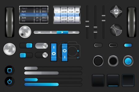Graphic User Interface for iphone,ipad,android