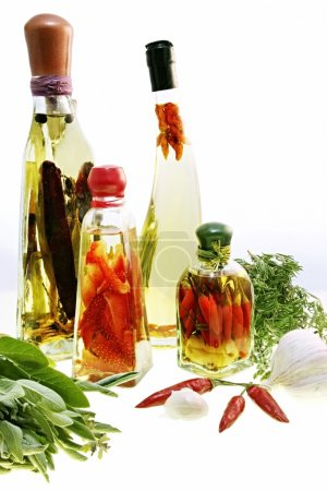 Infused Oils and Preserves
