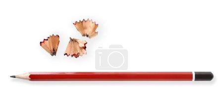 Bleistift und Späne