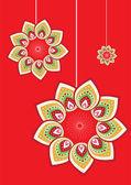 Stock Vector Illustration: Flower pattern
