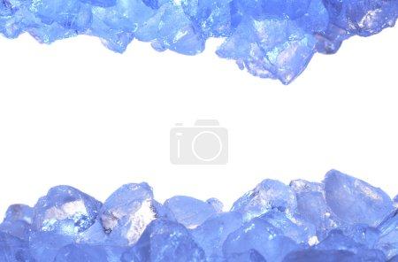 Photo pour Fond de glace - image libre de droit