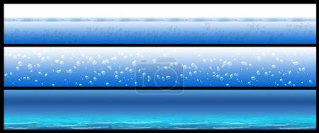 Water banner set