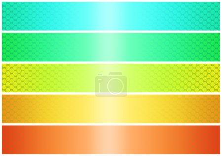 Shinig banner set