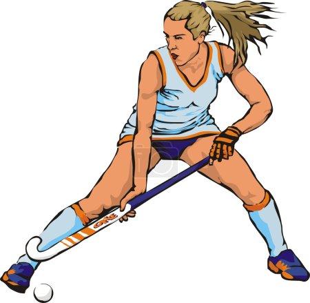Women`s grass hockey