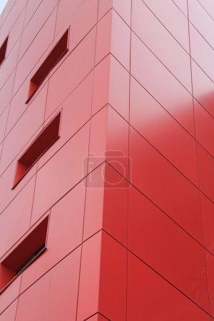 Photo pour Bâtiment moderne, un fragment. - image libre de droit