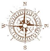 Grunge vektor kompas