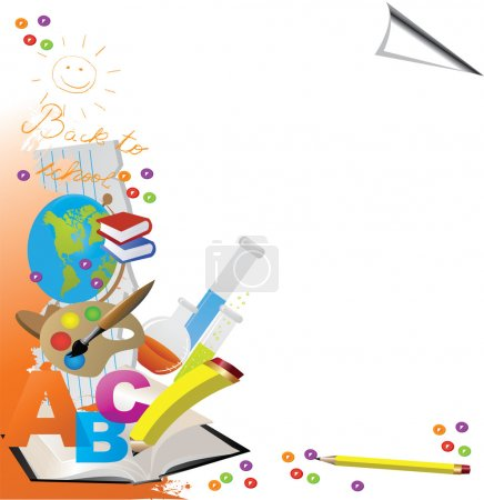 Photo for Back to School Design - Vector - Royalty Free Image