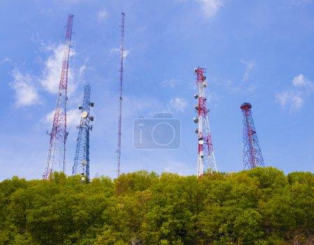 Antenne und Mobilfunkmasten
