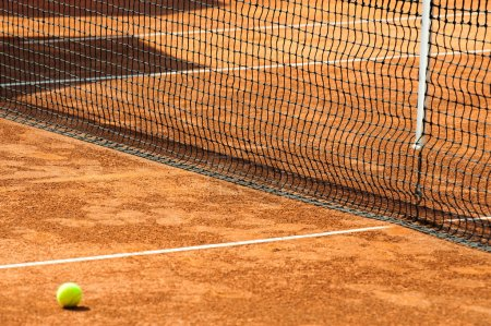 Photo for Empty tennis court - Royalty Free Image