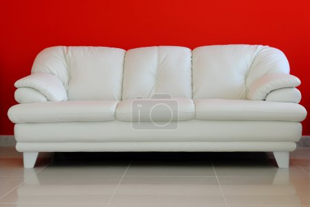 Photo for Perspective of a sofa - Interiors House . - Royalty Free Image