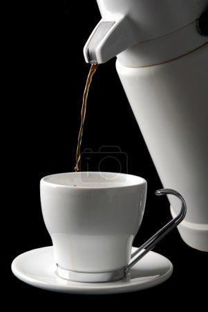 Photo pour Tasse blanche de café ou de thé (vous choisissez ) . - image libre de droit