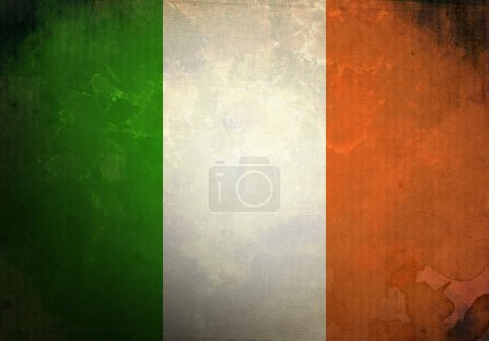 Grunge Irish Flag
