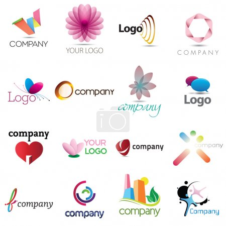 Photo for A collection of corporate emblem designs for your business - Royalty Free Image
