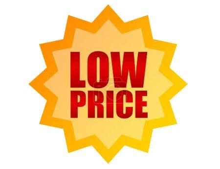 Label low price