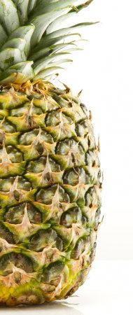 Photo for Ripe pineapple isolated on white background - Royalty Free Image