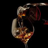 Konyakos üveg és üveg