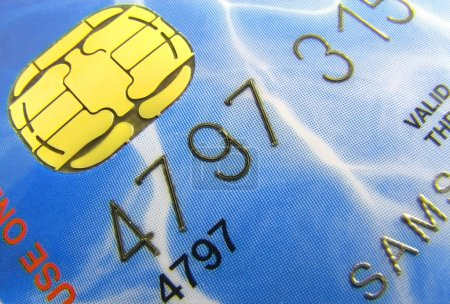 The credit card.
